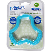 "Flexees """"A"""" Shaped  Teether Blue -"