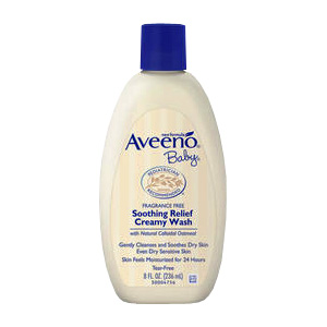 Baby Soothing Relief Creamy Wash -
