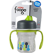 Foogo Leak Proof Sippy Cup w/ Handles Tripoli Design -