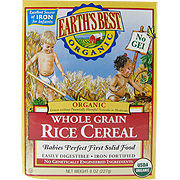 Organic Whole Grain Rice Cereal -