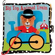 Big Top Animal Train Book -