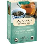 Organic Teas Decaf Simply Green Decaf Tea -