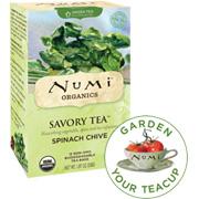 Organic Savory Tea Spinach Chive -