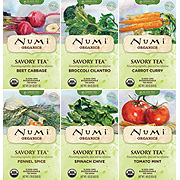 Organic Savory Tea Garden Sampler -