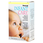 Infant Care Multi Vitamin Drops With DHA -