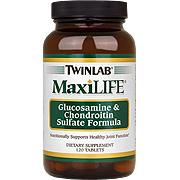 Maxilife Glucosamine & Chondroitin Sulfate 120 Tabs -