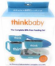 The Complete BPA-Free Feeding Set Blue -