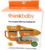 The Complete BPA-Free Feeding Set Orange -