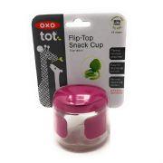 Flip Top Snack Cup Pink -