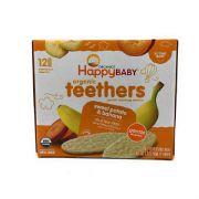 Gentle Teethers Organic Teething Wafers Banana & Sweet Potato  Case Pack -