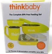 The Complete BPA-Free Feeding Set Yellow -