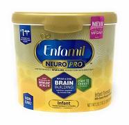 Enfamil NeuroPro Infant Formula Reusable Powder Tub -