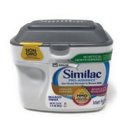 Similac Pro-Advance Infant formula with Iron & HMO (Human Milk Oligosaccharide) Our Closest Formula To Breast Milk, 0-12 Months  -
