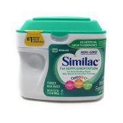 Non-GMO Similac for Supplementation Infant Formula Powder w/ Iron 0-12 Months -