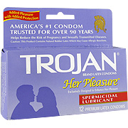 Trojan Her Pleasure Spermicide -