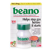 Beano Food Enzyme Dietary Supplement -