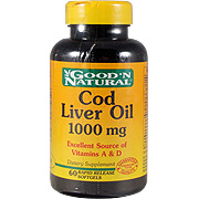 High Strength Cod Liver Oil 1000mg -