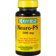 Neuro PS Phosphatidyl Serine 100mg -