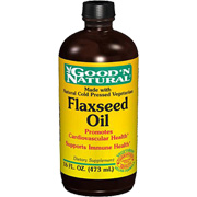 Organic Flaxseed Oil Liquid -