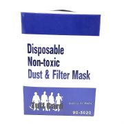 Disposable Non-Toxic Dust & Filter Mask 90-5020 -