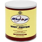 Whey To Go Protein Powder Natural Vanilla Bean Flavor -
