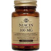 Niacin 100 mg Vitamin B3 -