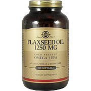 Flaxseed Oil 1250 mg Softgels