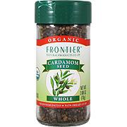 Cardamom Seed Decorticated Whole Organic -