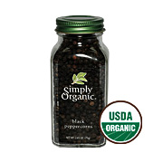 Simply Organic Black Peppercorns -