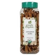 Simply Organic Cinnamon Sticks 2.75'' -