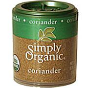 Simply Organic Coriander Seed Ground -
