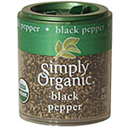 Simply Organic Black Pepper Medium Grind -