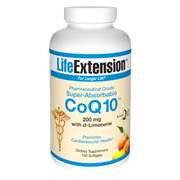 Super Absorbable COQ10 with D'Limonene 200 mg -