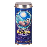 Bedtime Badger Body Care Kit -