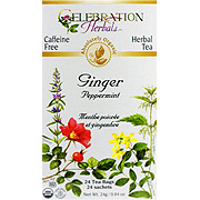 Ginger Peppermint Tea Organic -