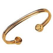 Two Tone Rib Bracelet -