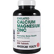 Chelated Calcium Magnesium Zinc -