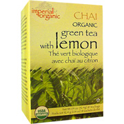Organic Tea Green/Lemon Chai -