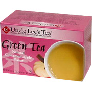 Green Tea with Cinnamon Apple -