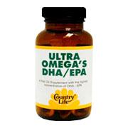 Ultra Omega's DHA EPA -