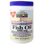Fish Oil 1000 mg Omega-3 -