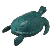 Acrylic Green TurtleHeart Massager -