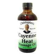 Cayenne Heat Massage Oil -