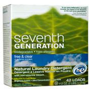 Free & Clear Laundry Powder -