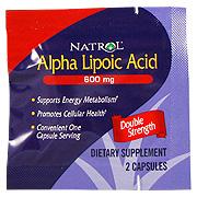 Alpha Lipoic Acid 600mg -