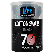 Cotton Swab Black -