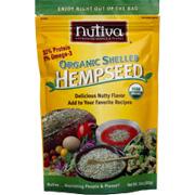 Organic Shelled Hemp Seeds -