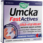 Umcka Fast Actives Cold & Flu Berry -