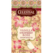 Vanilla Strawberry Rose Ceylon Black Tea -