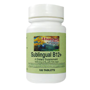 Sublingual B12 Plus -